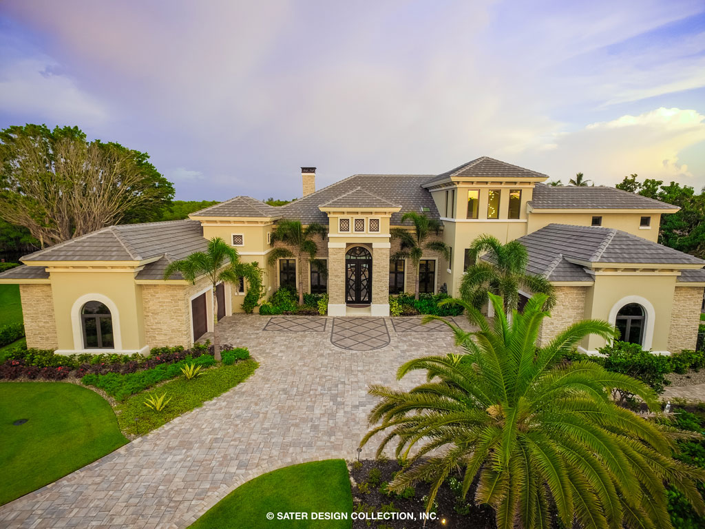 The Sater Design Collection the watersound custom designed home