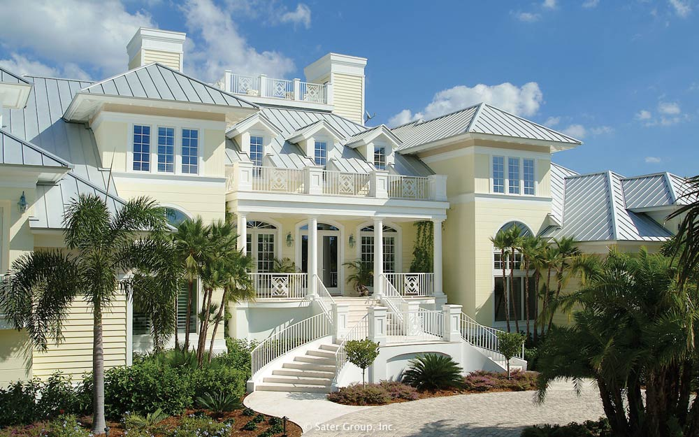 The Harmon Is An Old Florida Inspired Luxury Home.