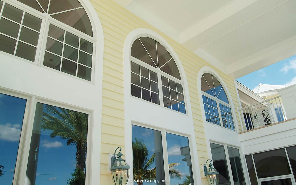 The harmon is an old florida styled luxury estate home for Florida style windows