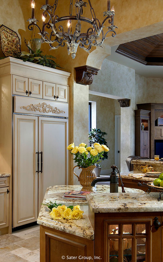 The Monteverdi is a Mediterranean flavored home