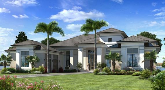 New Luxury Model Home Design