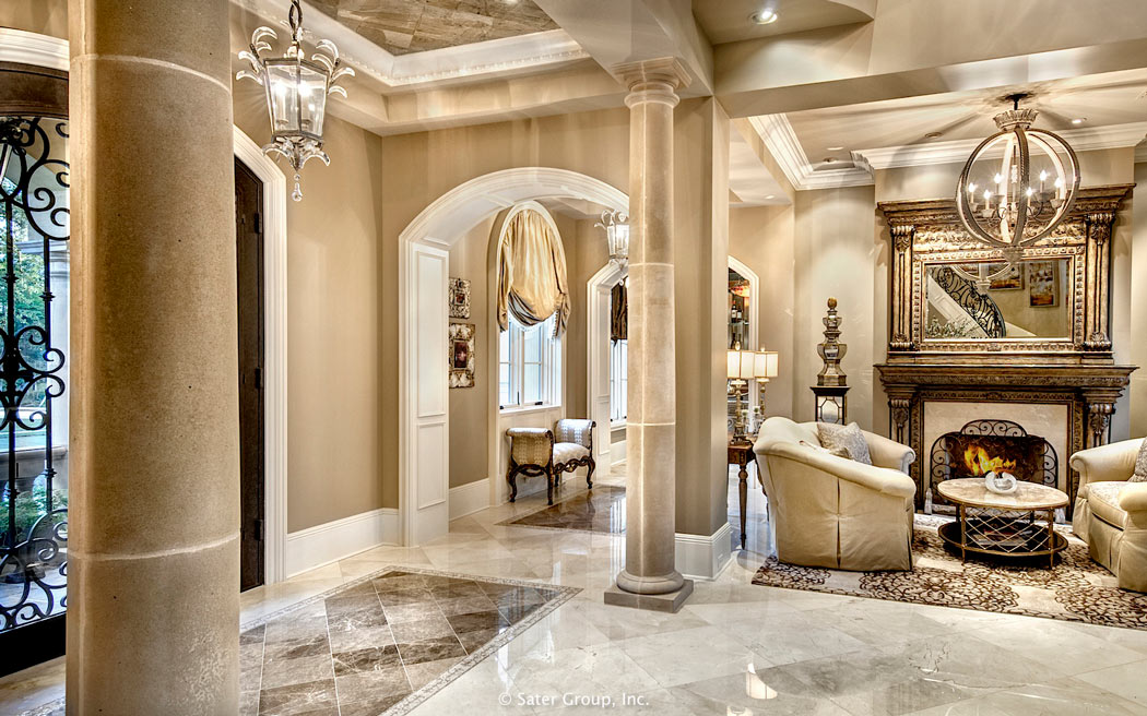 Foyer Luxury Kitchen : The villa belle a southern estate home