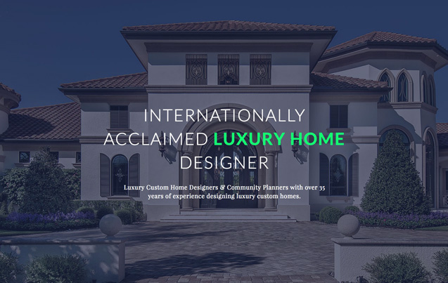 The Sater Group  Inc . Designer Luxury Homes. Home Design Ideas